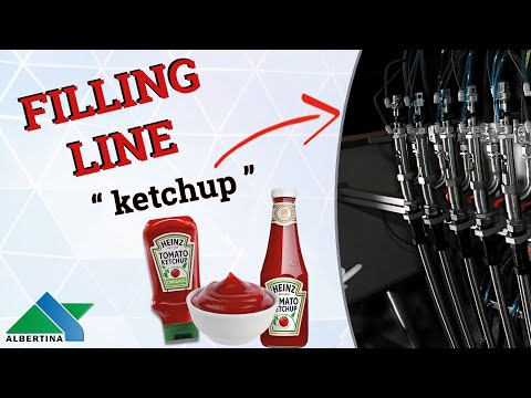 Albertina - Filling line for ketchup