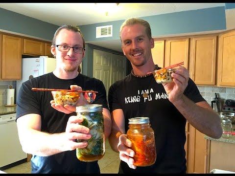 Traditional Korean Kimchi - Powerful Food for Immortality - Vegan Kimchi