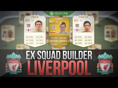 FIFA 14 NEXT GEN   EX LIVERPOOL SQUAD BUILDER! w/ Owen & Fowler