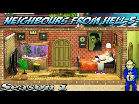 Neighbours From Hell 5 - Season 1 [100% walkthrough]