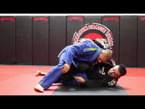 Jiu Jitsu Techniques - Reverse Half Guard Sweep Image 1