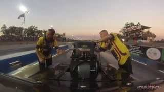 Top Doorslammer onboard with Stuart Bishop @ Hidden Valley Drag Strip