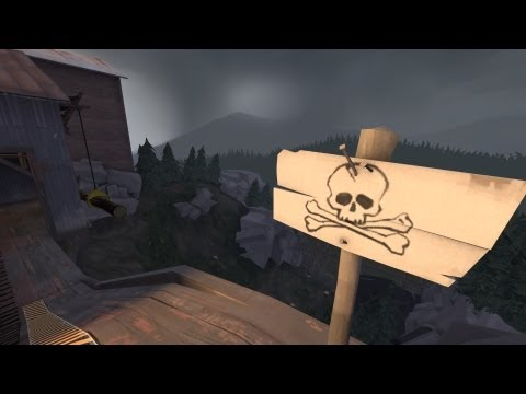 The Cliff: TF2 [Live Commentary] Default Pyro Gameplay
