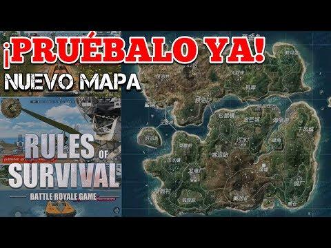 ¿QUIERES JUGAR EL NUEVO MAPA AHORA MISMO? ? RULES OF SURVIVAL
