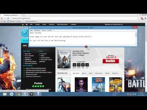 PC Spiele sehr sehr günstig kaufen [HD] German