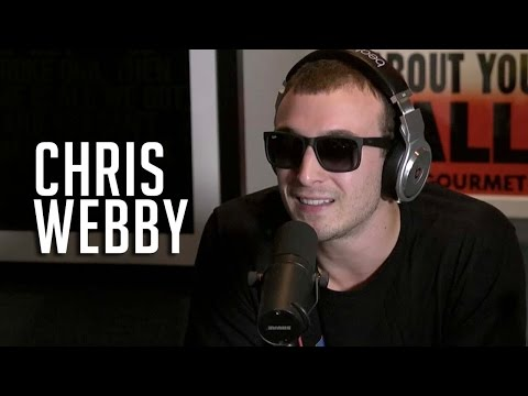 Chris Webby Meets Ebro, Freestyles on Hot 97 (Video)
