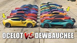 GTA 5 ONLINE - OCELOT VS DEWBAUCHEE (WHICH IS FASTEST?)