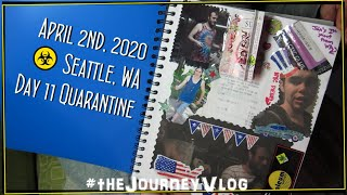 Daily Coronavirus Quarantine Vlog in Seattle, WA | Day 11 | 04/02/2020 #daily #seattle #vlog