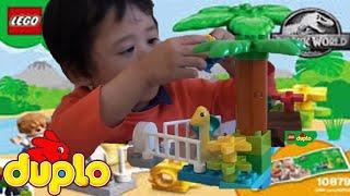 🤹◾️Lego Duplo Dinosaur, Jurassic Park Lego Toy Videos, Duplo Lego