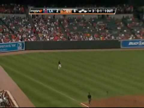 Adam Jones, Nick Markakis, and Felix Pie -- O'some Outfield! Video