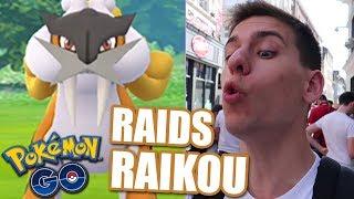 RAIDS RAIKOU À LILLE ! - POKÉMON GO