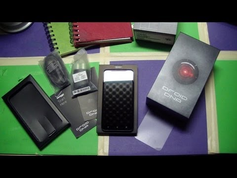 HTC Droid DNA Unboxing