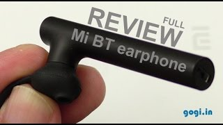 Xiaomi Mi bluetooth 4.1 earphone review, now in India