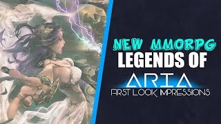 Legends Of Aria FREE TO PLAY First Impressions