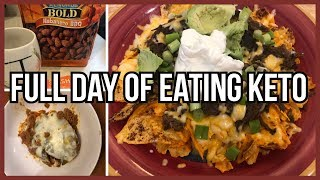 Full Day of Eating Keto | What I Eat to Lose Weight | Keto Chile Relleno Casserole