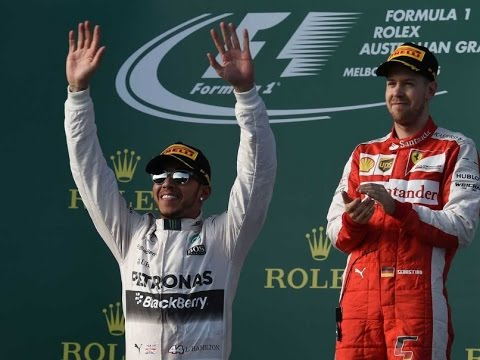 Lewis Hamilton wins with ease in Australia as only 11 cars finish