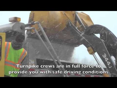 Ohio Turnpike Crews Battling Winter Weather