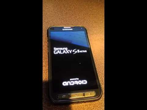 How to Unlock Samsung Galaxy S5 Active model SM-G870A from At&t