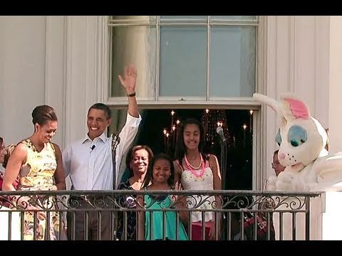 Opening the 2011 White House Easter Egg Roll