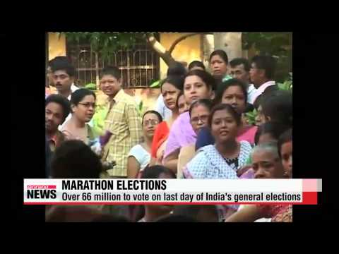 India begins voting in final stage of marathon elections