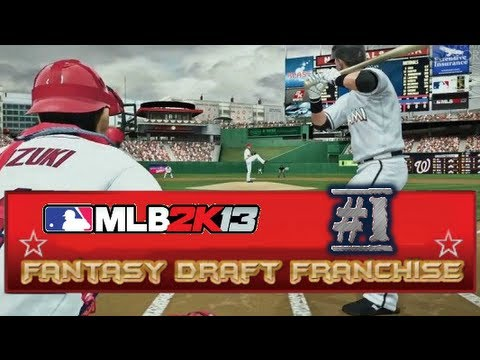 MLB 2K13 Franchise - The Fantasy Draft