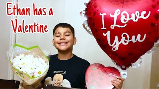 My Son Has A Valentine!!!
