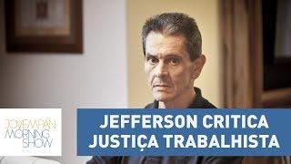 "Roberto Jefferson faz duras críticas à Justiça Trabalhista: ""socialista e populista"""