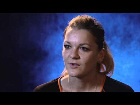 Agnieszka Radwanska interview (quarterfinal) - 2014 Australian Open