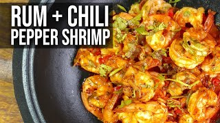 Rum Pepper Shrimp recipe by the BBQ Pit Boys