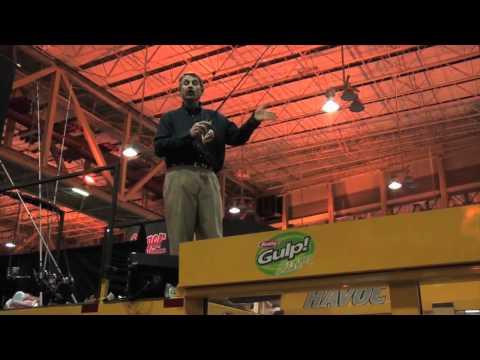 Hank Parker Demonstrates How Well Berkley's PowerWorm Performs