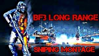 Battlefield 3 Long Range Sniping Montage