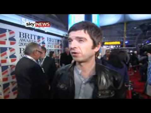 Brit Awards: Noel Gallagher Speaks To Sky News