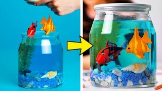 20 FUN AND CREATIVE DIYS WITH SIMPLE THINGS