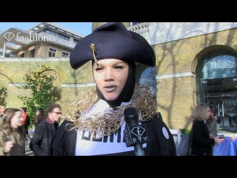 Eclectic Style at Vivienne Westwood Red Label Fall/Winter 2013-14 | London Fashion Week | FashionTV
