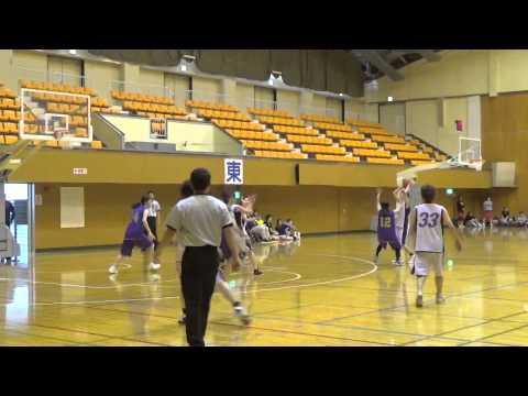 150628東北ママさんバスケット青森県予選一般(Sea☆Cats vsFUN )4Q