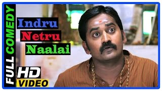 Indru Netru Naalai Tamil Movie | Scenes | Full Comedy scene | Vishnu| Karunakaran | Mia George