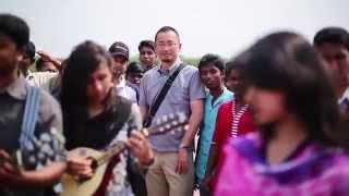 Amar Sonar Bangla (National Anthem) Instrumental Flash MOB