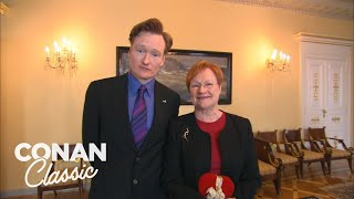 Conan Meets The President Of Finland - Conan25: The Remotes