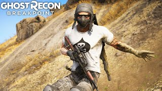 THE CRAZY RUSSIAN in Ghost Recon Breakpoint Free Roam