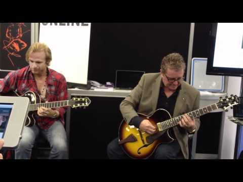Martin Taylor with Andreas Oberg