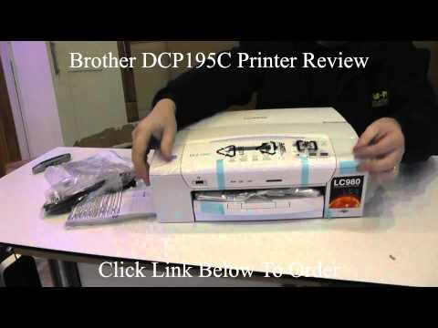 Brother 195 - Brother dcp195c Printer Review