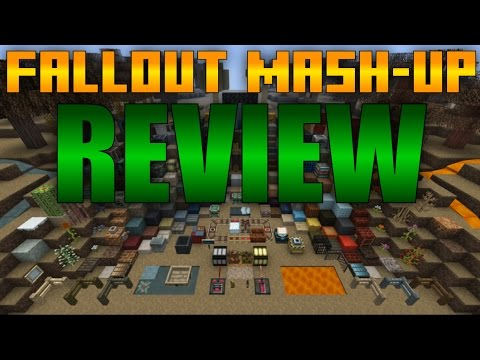 Minecraft Xbox One/PS4 - Fallout Mashup Pack Review + Map Showcase!