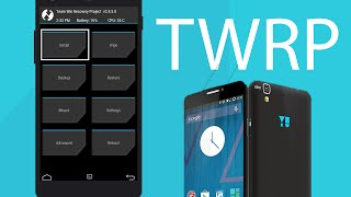How to Install TWRP Recovery in YU Yureka
