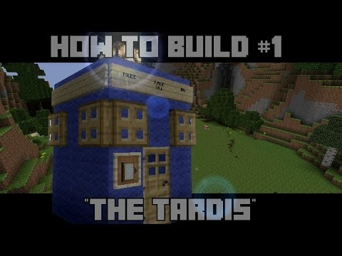 Minecraft How To Build #1 The TARDIS