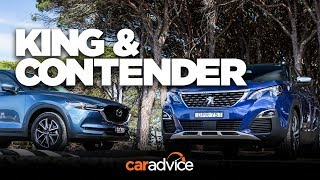 Can Peugeot's new 3008 outdo the popular CX-5? Comparison time!