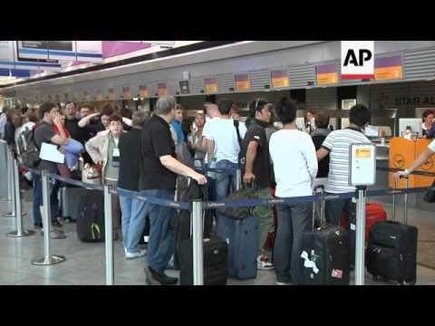 Lufthansa flight attendants launch 24-hour strike