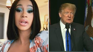 Politicians Debate Retweeting Profane Cardi B Video