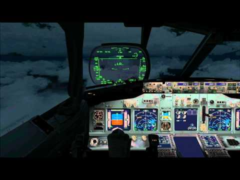 FSX PMDG B737-800WL Honolulu International Airport PHNL Landing all View HD.