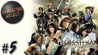 Dissidia 012 Final Fantasy Part 5 - A Summoner's Many Guardians - CharacterSelect