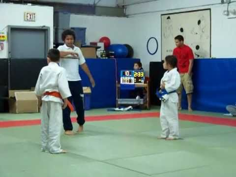 7yo Girl Fights Two Judo Matches Image 1